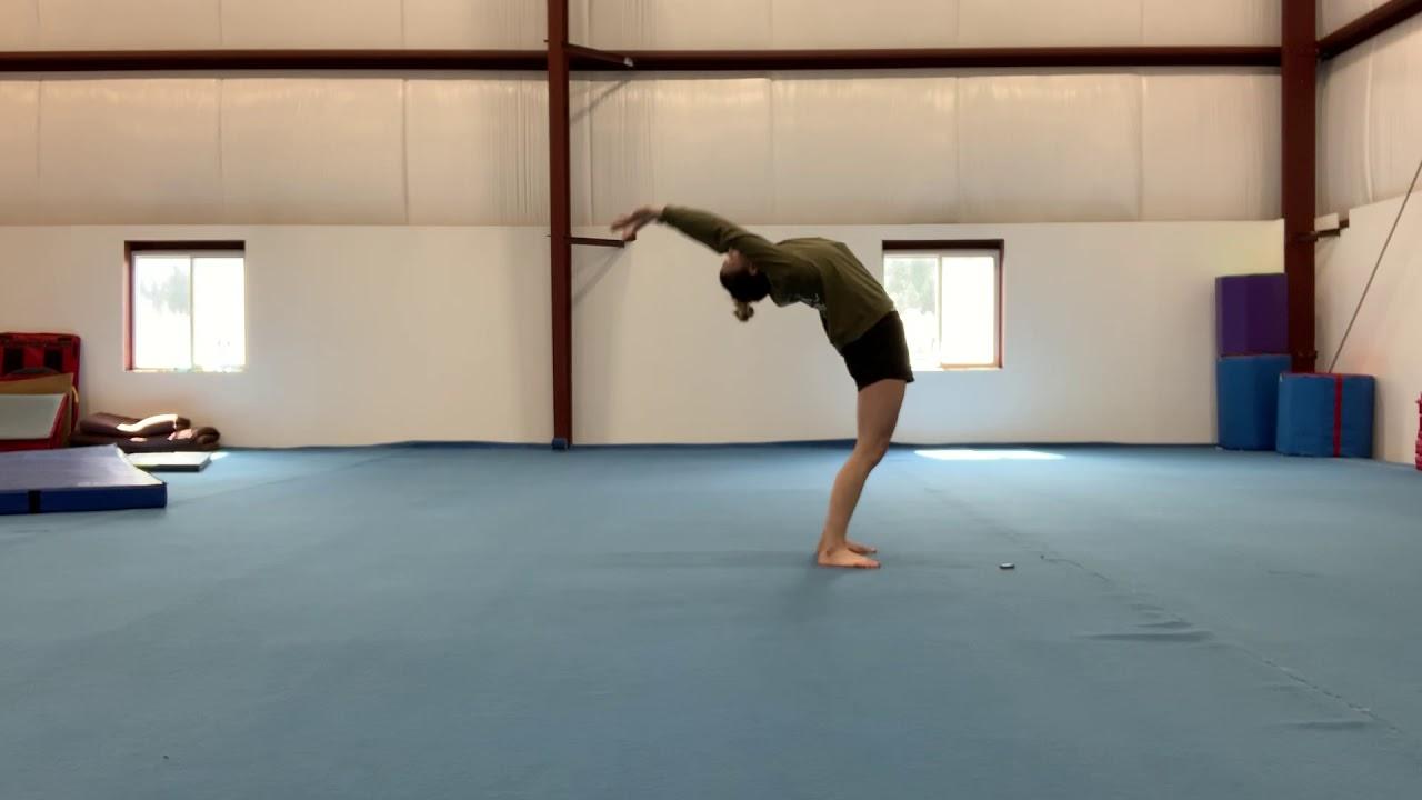 Back bend kick over tutorial - YouTube