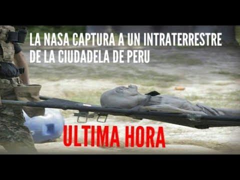 ULTIMA HORA LA NASA LLEGA A PERU Y CAPTURAN A UN SER VIVO DE LA CIUDADELA EXTRATERRESTRE