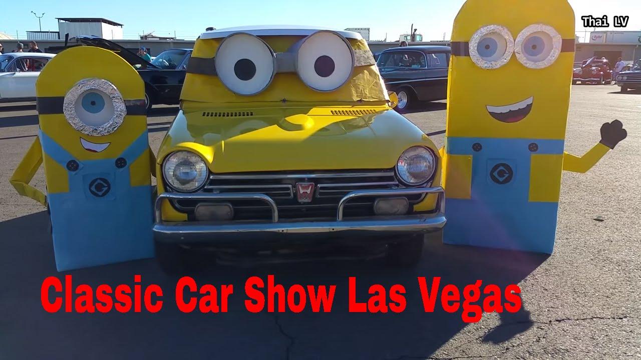 Classic Car Show Las Vegas- รถโบราณ - YouTube