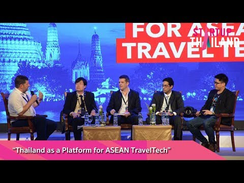 """Panel Session """"Thailand as a Platform for ASEAN TravelTech"""""""