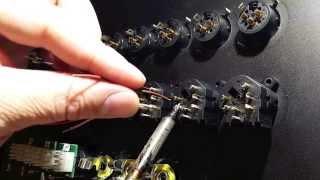 Studio Wiring - Neutrik TRS / XLR Combo Jack Installation Preparation Pt 1