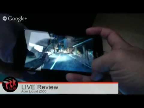 LIVE Review: Acer Liquid Z500