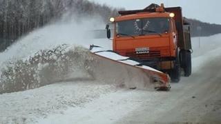 снегоуборщик на дороге - как работает дорожная служба на снегоуборочной технике