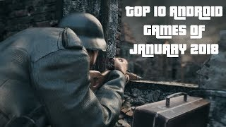 TOP 10 ANDROID GAMES OF JANUARY 2018 | TECH ANDROID |