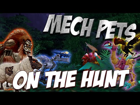 "Ravenclaw - ""On The Hunt""  hunter pets legion pre patch 7.0 - Mechanical Pets!"