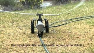 Travelling Sprinkler Tractor