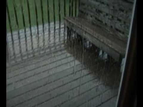 Hail Storm in Vermont