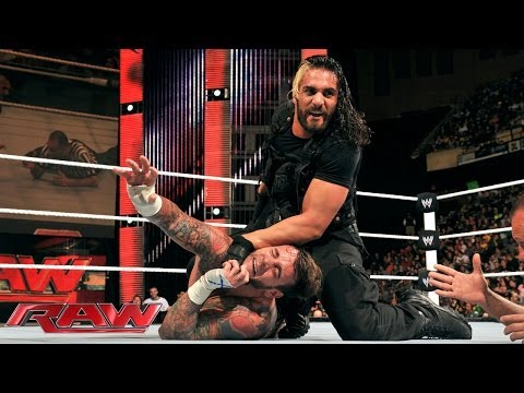CM Punk vs. Seth Rollins: Raw, Dec. 30, 2013
