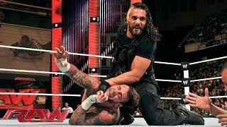 CM Punk vs. Seth Rollins: Raw, Dec. 30, 2013