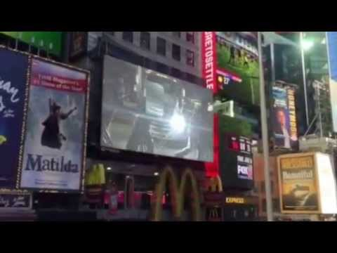 """THE FRAME - """"Thieves and Saints"""" in Times Square?"""