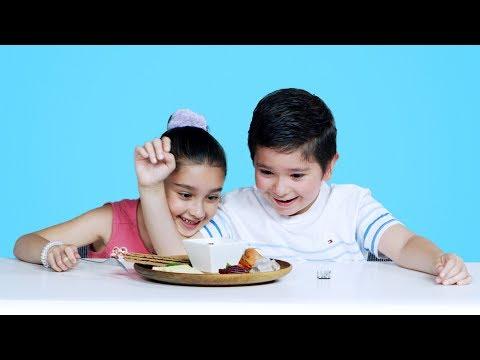Kids Try Swedish Food | Kids Try | HiHo Kids