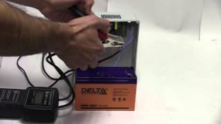 видео Аккумулятор Delta DTM 1209