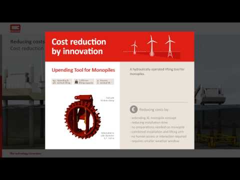 Reducing costs on Offshore Wind installation