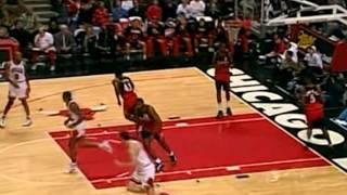 NBA Greatest Trios: Jordan, Pippen & Rodman vs Hawks (1995)
