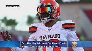 Can Mayfield, Beckham Make The Cleveland Browns A Contender?
