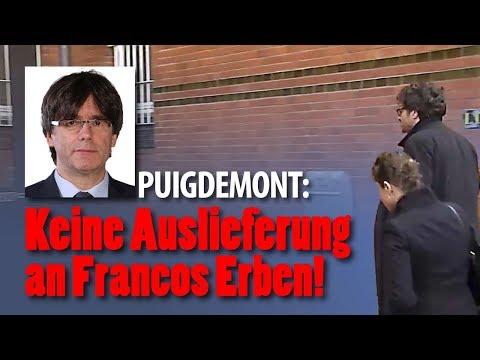 """Interview mit Carles Puigdemont aus der JVA Neumünster: """"Ich bin kein Krimineller"""""""