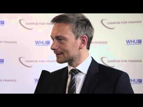 Interview with Christian Lindner – WHU New Year's Conference 2016 (German)