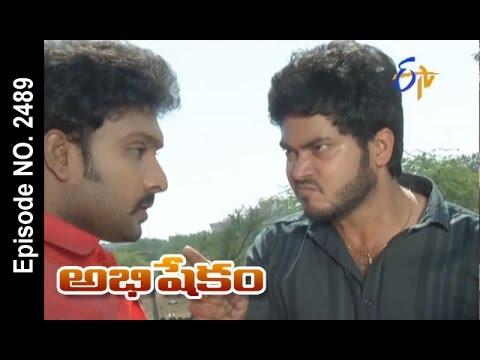 Abhishekam | 9th January 2017| Full Episode No 2489| ETV Telugu