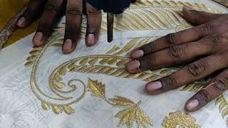 Amazing machine embroidery work