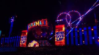 John Cena Entrance Wrestlemania 33 Orlando Florida Camping World Stadium 4 02 2017