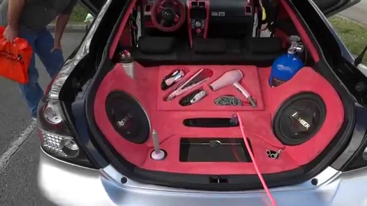 Tricked Out Scion Tc >> Pink My Ride Scion Tc Youtube