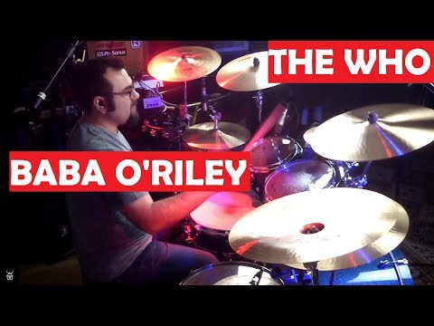 The Who - Baba O'Riley Drum Cover