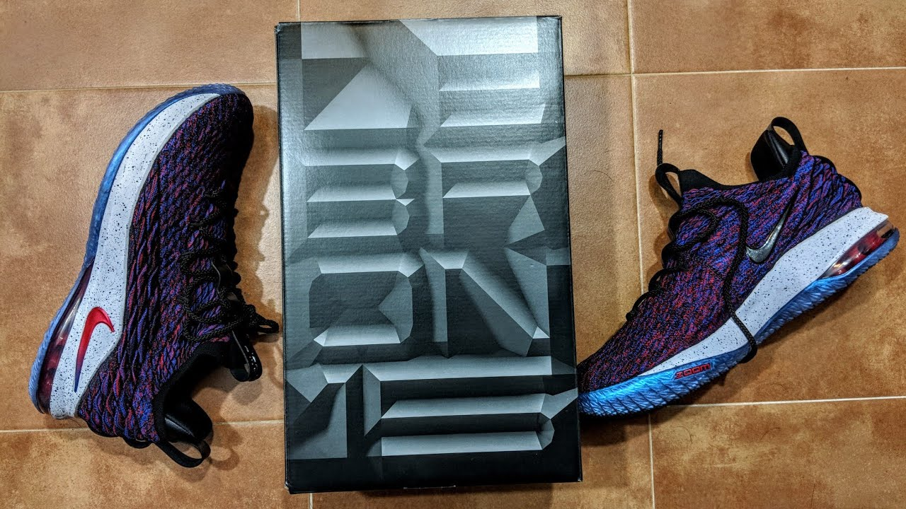 buy online 817cc 153a4 Lebron 15 Low Supernova Review and On Feet!