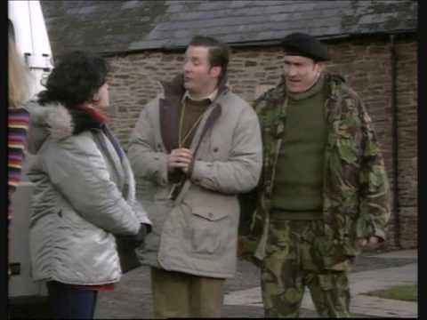 The Brittas Empire, Surviving Christmas /part 1/, Christmas ...