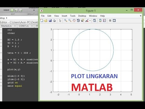 Tutorial 3 matlab how to plot the circles on matlab youtube tutorial 3 matlab how to plot the circles on matlab ccuart Images