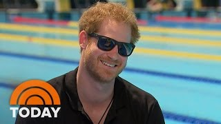 Prince Harry Speaks Out On Invictus Games, Princess Diana, Dating | TODAY