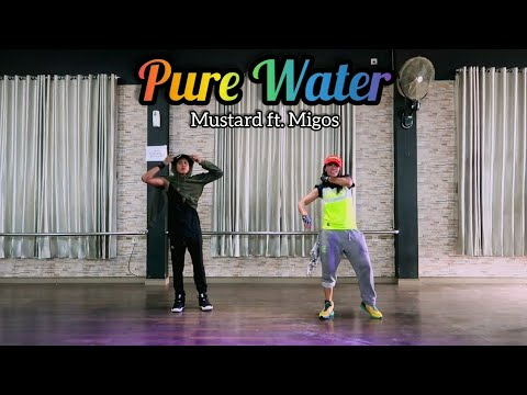 Mustard - Pure Water ft Migos Choreography ZUMBA  FITNESS  DANCE  At BFS Studio Sangatta