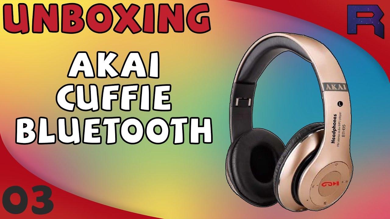 Unboxing Cuffie Bluetooth AKAI - UNBOXING - 03 - YouTube ffe3d4e936c6