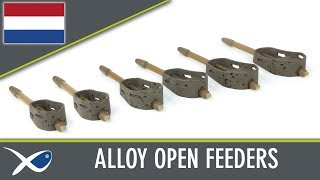 *** Benelux Match Fishing TV *** Alloy Open Method Feeders