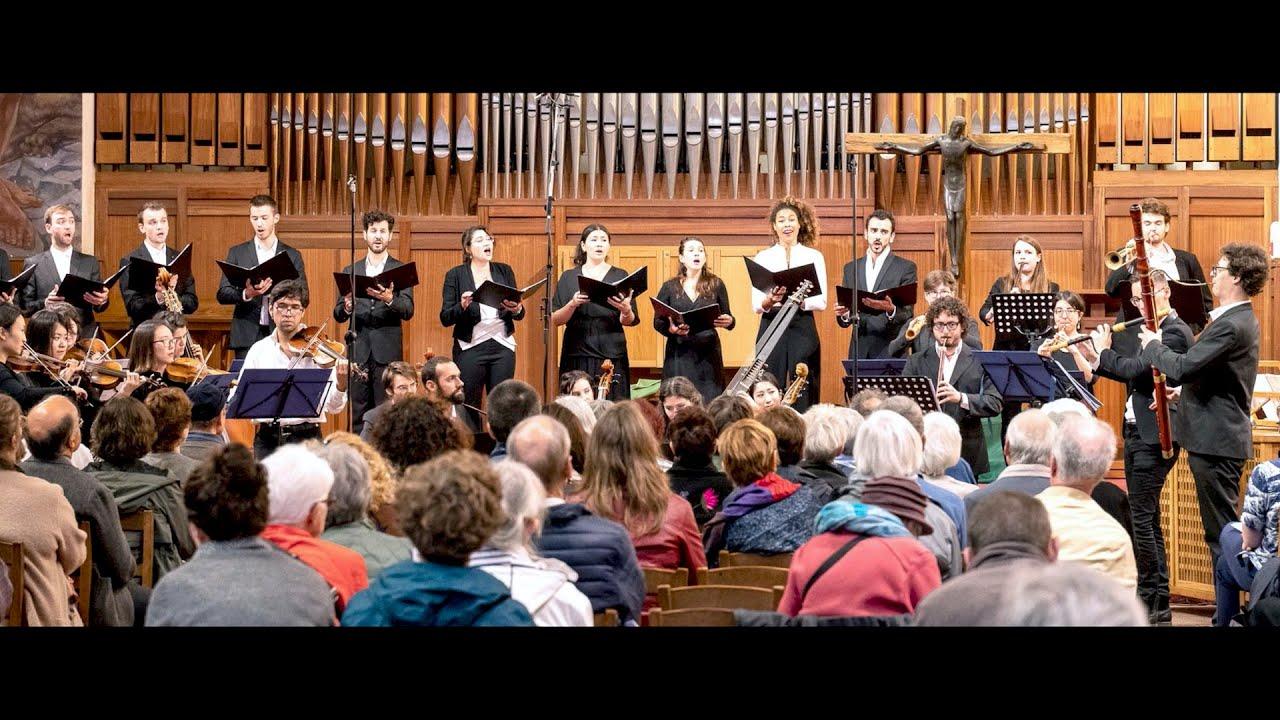 """Ensemble Poséidon • Concert """"Charmes Sacrés"""", extraits (6/10/2019)"""