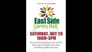 Welcome to the 2019 East Side Garden Walk