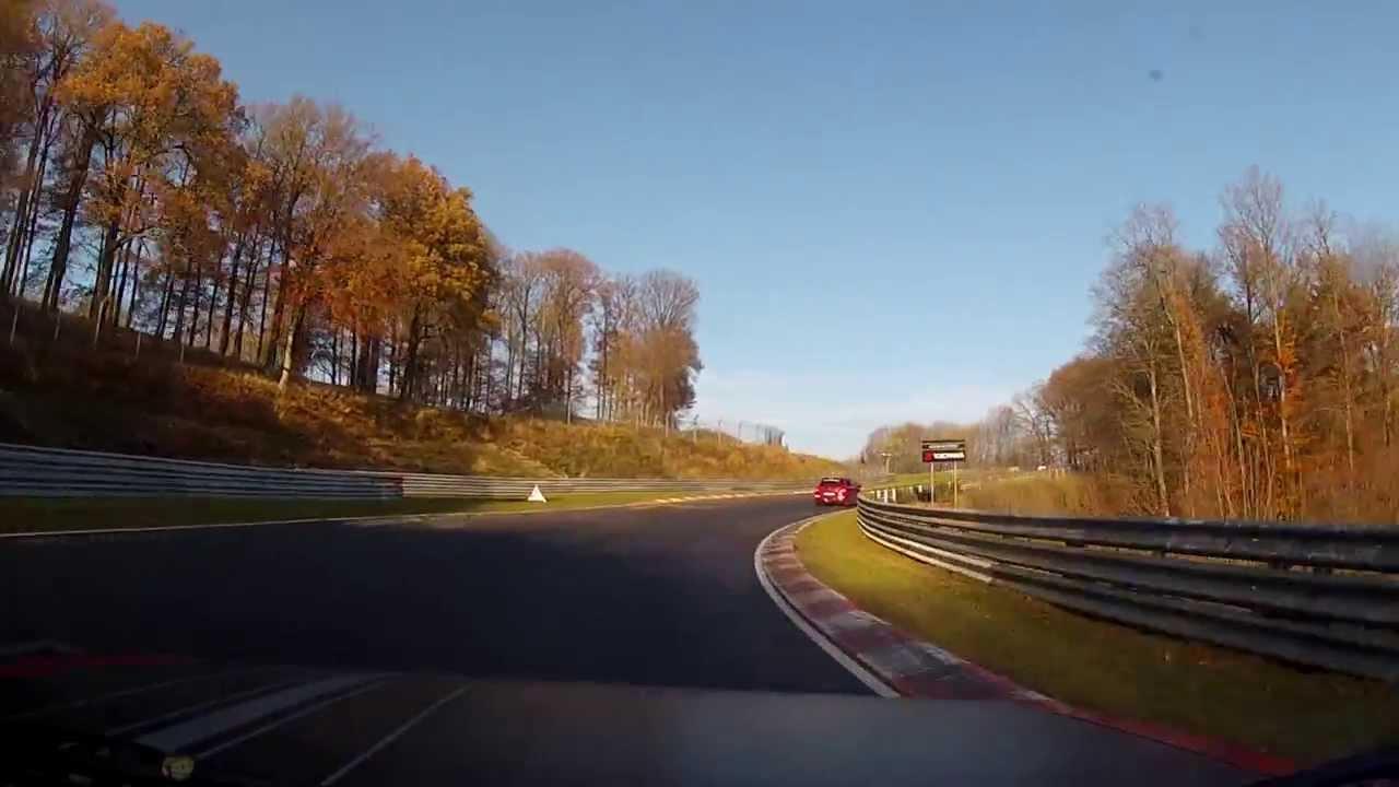 NURBURGRING 16.11.2013 Audi 80 GTE 1974 - YouTube
