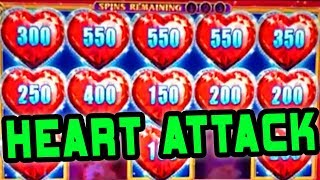 HEART ATTACK AT THE CASINO ★ LOCK IT LINK DIAMONDS ★ 10 CENTS!