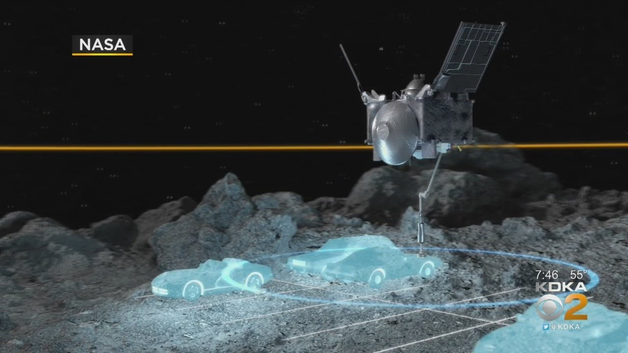 NASA Attempting To Collect Sample From Asteroid That Will Return To Earth - CBS Pittsburgh