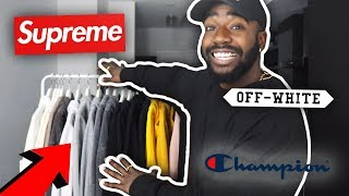$7000 SWEATER COLLECTION! (YEEZY, SUPREME + MORE)