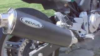 honda cbf 500   remus revolution gp stock exhaust