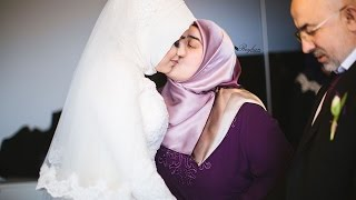 Esra & Muhammed Turkish Muslim Wedding romantic emotional göz yasi garantisi gelin cikartma