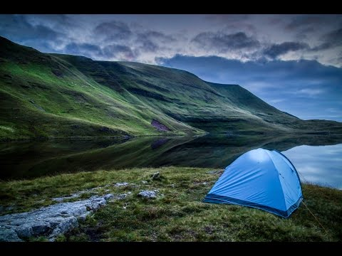 Landscape Photography and Wild Camping Vlog