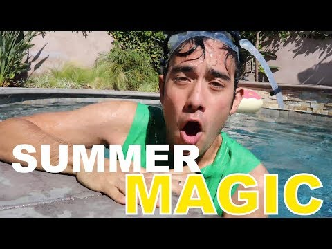 Thumbnail: Zach King's Best Summer Magic Tricks