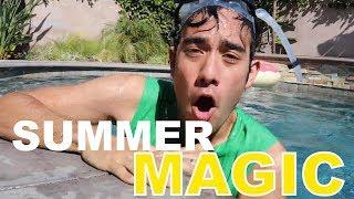 Zach King's Best Summer Magic Tricks