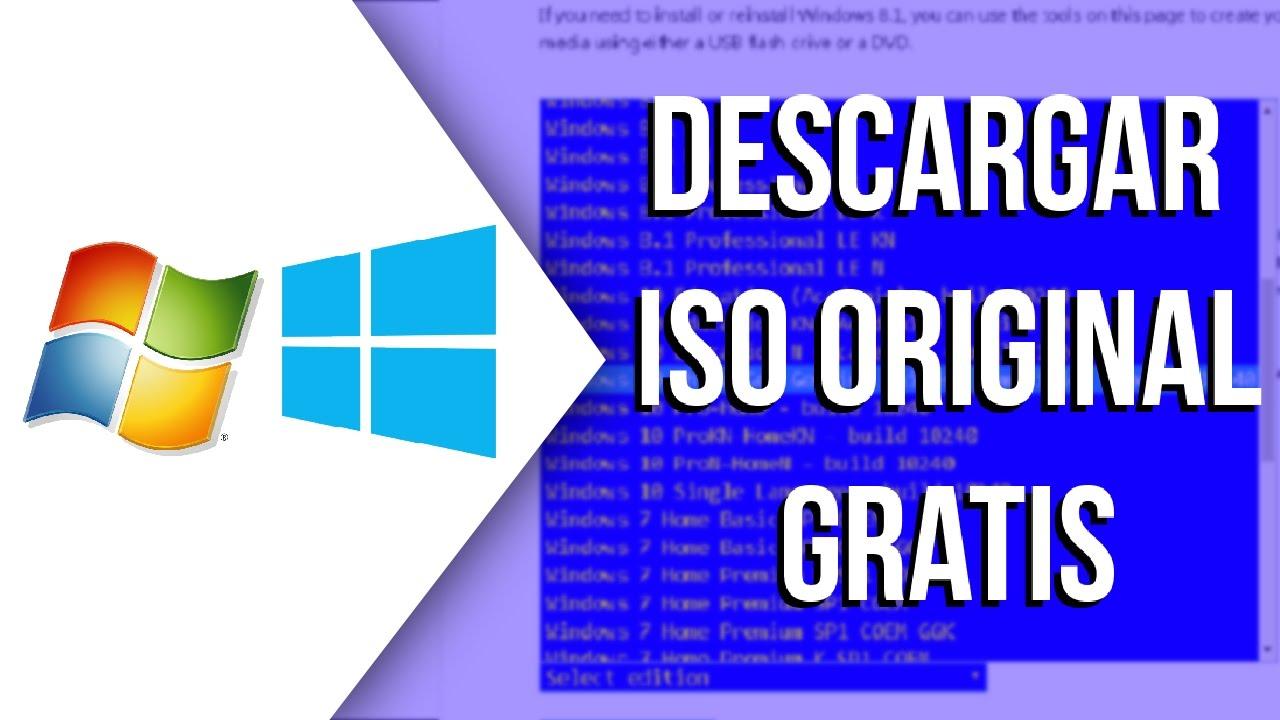 download windows 7 original iso