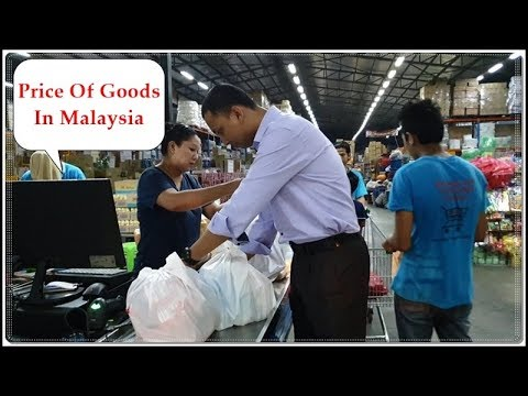 Bangladeshi Vlogger Sharing Some Goods Price In Malaysia || My Daily Life Routine.