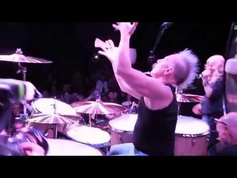 Mike Terrana Performs Heartbreaker
