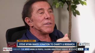 Steve Wynn donates nearly $7M to medical research, charities