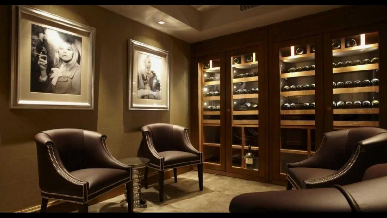 armoire vin sur mesure ch ne teint noyer youtube. Black Bedroom Furniture Sets. Home Design Ideas