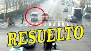 MISTERIO RESUELTO: Autos que levitan en China por fuerza desconocida | Explicación